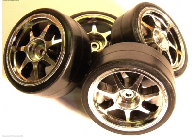 1/10 Drift Wheels Tyres RC Car