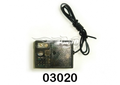 HIMOTO 27mhz 2 Channel Receiver 03020